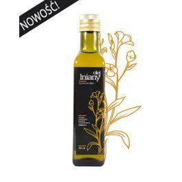 Olej lniany tłoczony na zimno 500 ml