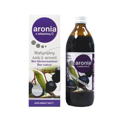 Sok z aronii 500 ml Donum