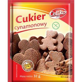 Dodatki do wypieków bezglutenowy cukier cynamonowy, waniliowy
