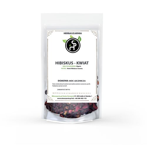 Kwiat HIBISKUS - rubinowy napar - 500g
