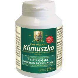 Tabletki wspierające wyciszenie i prawidłowy sen Ojca A. Cz. Klimuszko (120 tabl. + 60 tabl./ 1,5 m-ca)