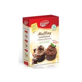 Muffinka czekoladowa  z budyniem bezglutenowa