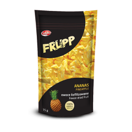 Frupp- owoce liofilizowane ananas