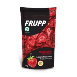 Frupp -owoce liofilizowane truskawka