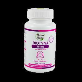 Biotyna 2,5 mg 120 tabl.