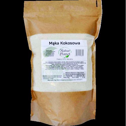 Mąka kokosowa + Błonnik 1000g
