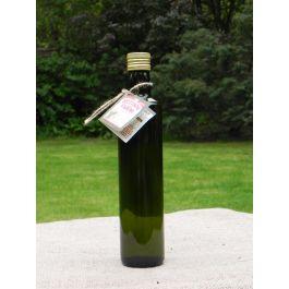 Oliwa grecka domowa z oliwek z czosnkiem i rozmarynem 0,2L