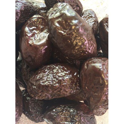 Oliwki czarne pieczone - słoik 0,5