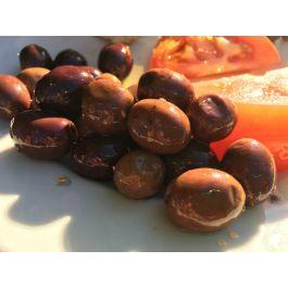 Oliwki czarne z rozmarynem i skórką pomarańczową - słoik 0,2L