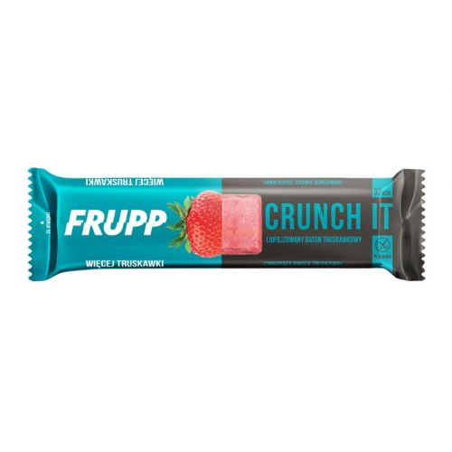 Frupp – liofilizowany baton truskawkowy