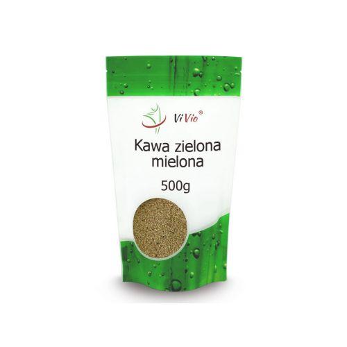 Kawa zielona Arabica mielona 500g