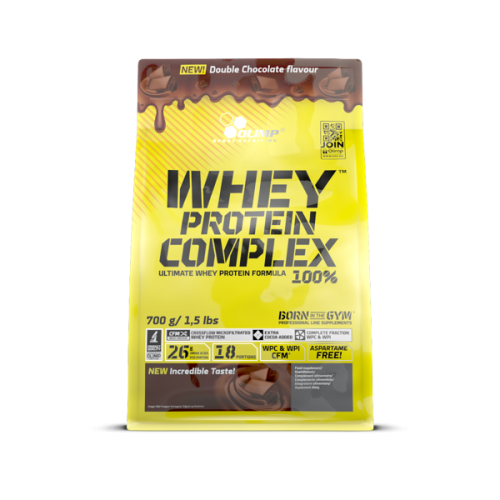WHEY PROTEIN COMPLEX 100% 700G DOUBLE CHOCOLATE