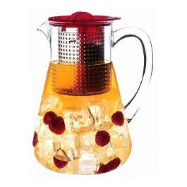 Finum - Dzbanek Iced Tea Control 1,8l Czerwony