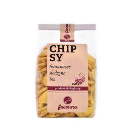 Chipsy bananowe słodzone BIO 150 g
