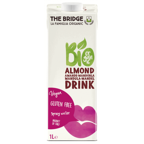 Napój Mleko Migdałowe Bez Glutenu 1L