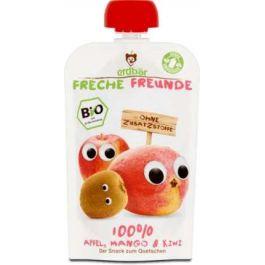 Mus Do Wyciskania Jabłko-Mango-Kiwi 100g EKO Erdbar Dla Dzieci