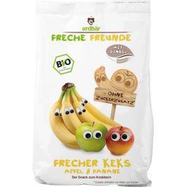 Herbatniki Jabłkowo-Bananowe 125g EKO Erdbar Dla Dzieci