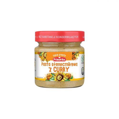 Pasta słonecznikowa z curry