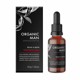 Serum w płynie regenerujące Organic Man