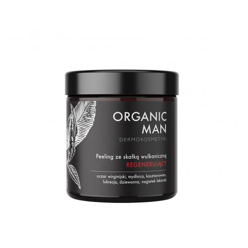 Peeling regenerujący ze skałką wulkaniczną Organic Man