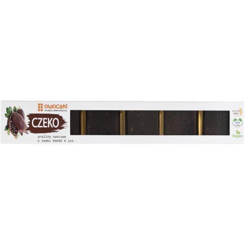 CZEKO 6 kostek o smaku kakaowym