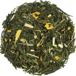 Herbata Zielona Żeńszeń Trawa Cytrynowa 100g