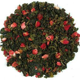 Herbata Zielona Oolong Truskawka 100g