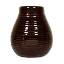 """Calebasse ceramiczna """"Miodowa"""" brązowa"""