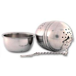 Zaparzacz metalowy Jajko - małe