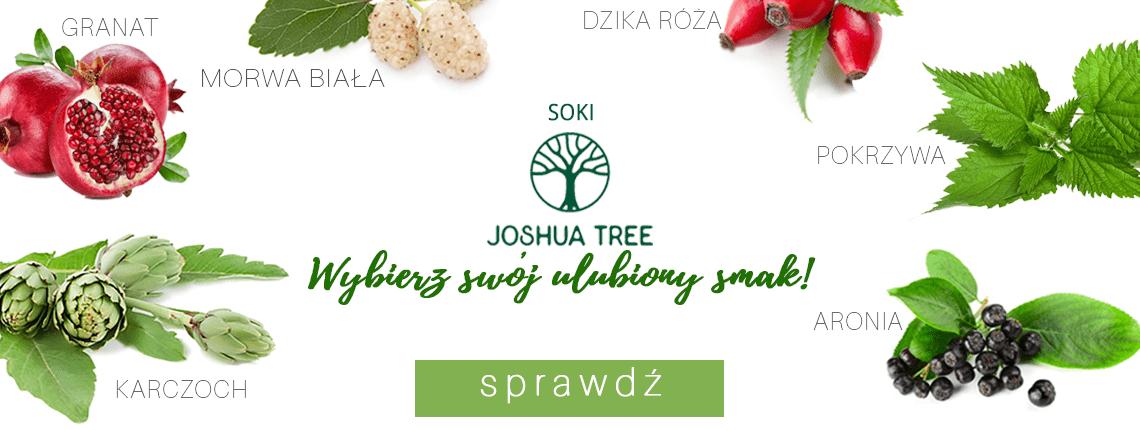 Naturalne soki Joshua Tree